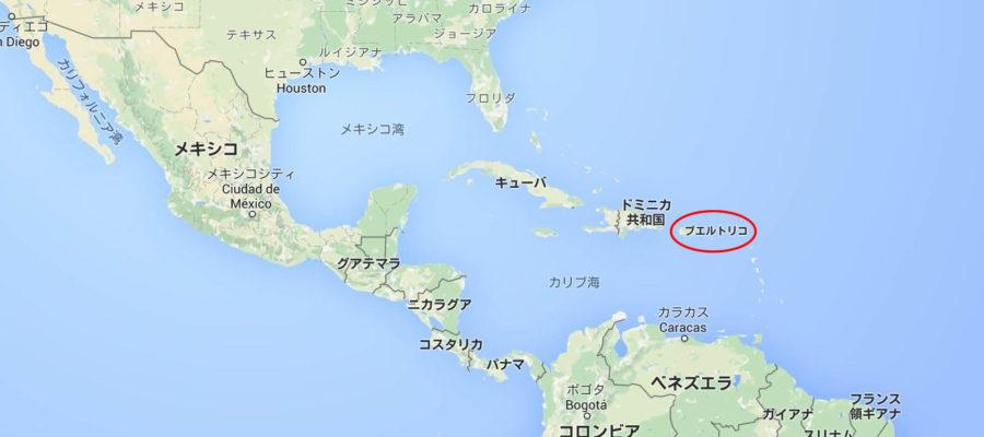 プエルトリコ地図
