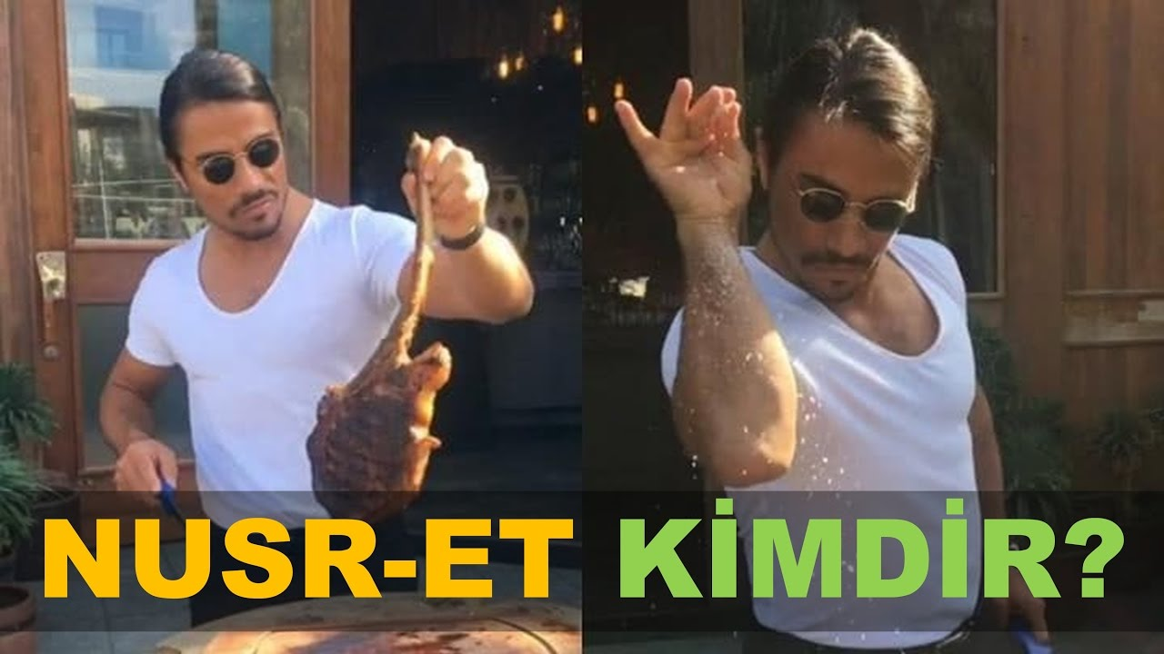 俳優のような渋い雰囲気でステーキを焼いて独特のポーズで塩をふる人って誰?トルコ人シェフの「ヌストラ・ガネーシュ(Nusret Gökçe)」さん。