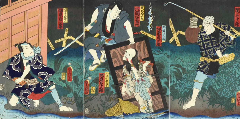 7月26日は幽霊の日?お岩さんで有名な「四谷怪談」の初演日との事。