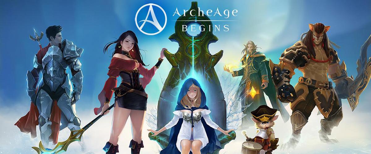 「アーキエイジ」とはどういう意味?英語で「ArcheAge」と記述するとの事。