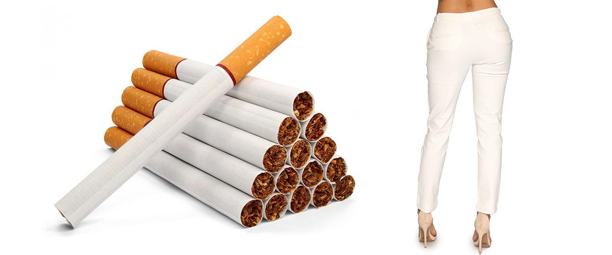 「シガレットジーンズ」とはどういう意味?紙巻タバコを意味する英語「Cigarette」に由来するとの事。