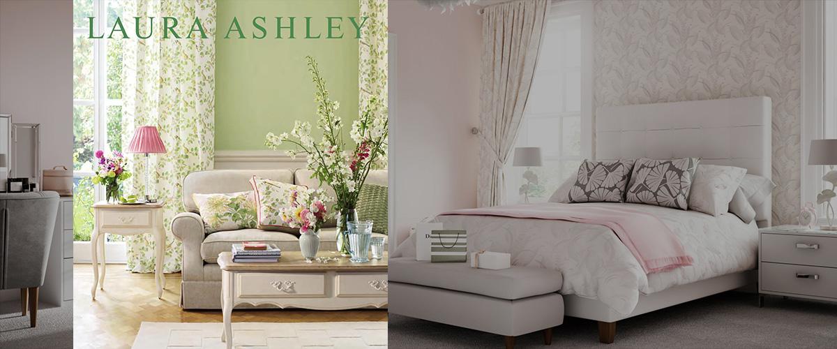 「ローラアシュレイ」とはどういう意味?英語で「Laura Ashley」と記述するブランド名との事。