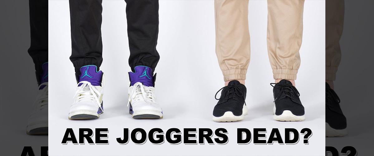 「ジョガーパンツ」の「ジョガー」とはどういう意味?英語で「jogger」と記述するとの事