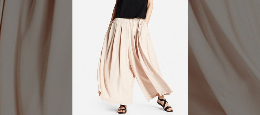 drape wide pants