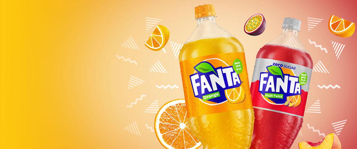 そもそも「ファンタ」とはどういう意味?アルファベットで「Fanta」と記述するとの事。