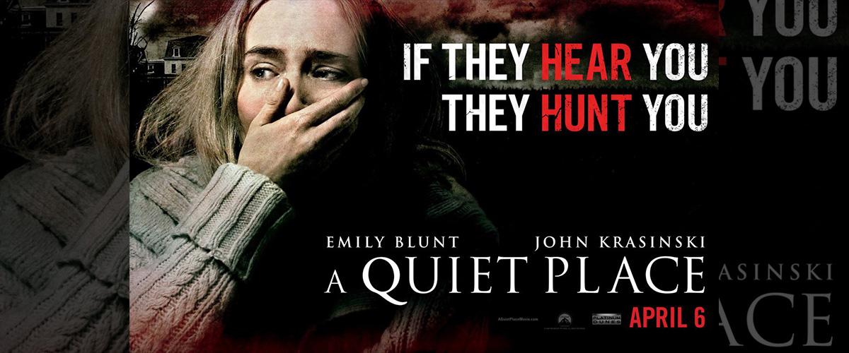 「クワイエット・プレイス」とはどういう意味?英語で「Quiet Place」と記述するとの事。