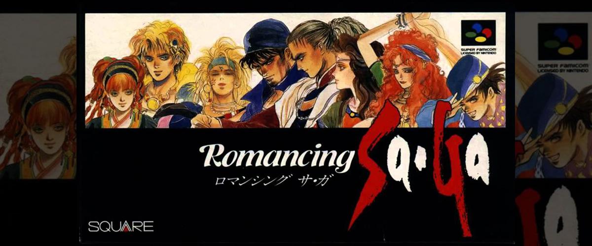 「ロマンシングサガ」とはどういう意味?アルファベットで「Romancing Sa・Ga」と記述するとの事。
