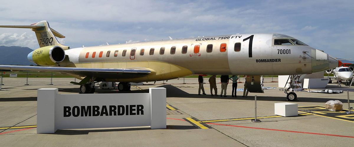 「ボンバルディア」とはどういう意味?英語で「bombardier」と記述するとの事。