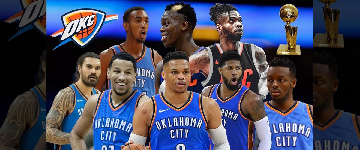 「オクラホマシティ・サンダー」とはどういう意味?英語で「Oklahoma City Thunder」と記述するとの事。