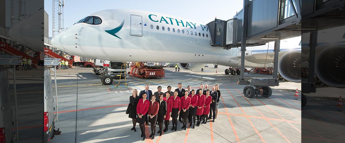 「キャセイパシフィック」の「キャセイ」とはどういう意味?アルファベットで「Cathay Pacific」と記述するとの事。