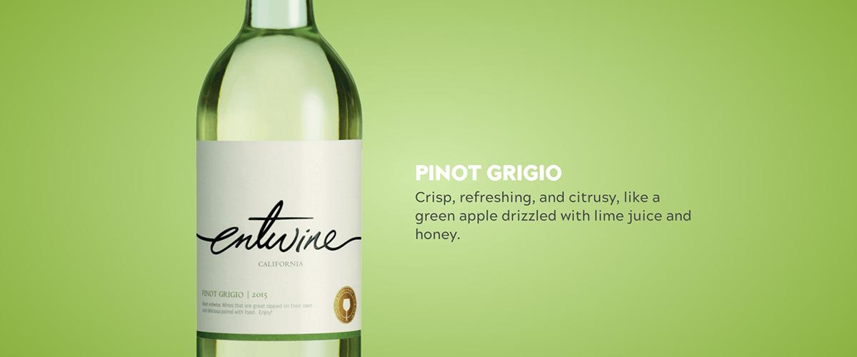 「ピノグリージョ」とはどういう意味?アルファベットで「Pinot Grigio」と記述するとの事。