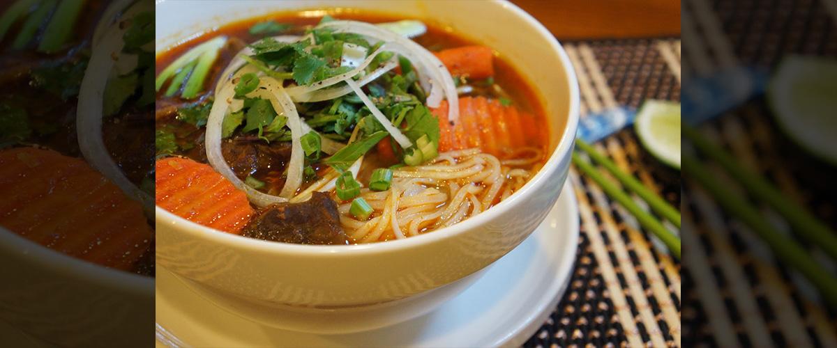 「フーティユボーコー」とはどういう食べ物?またどういう意味?アルファベットで「Hu Tieu Bo Kho」と記述するとの事。