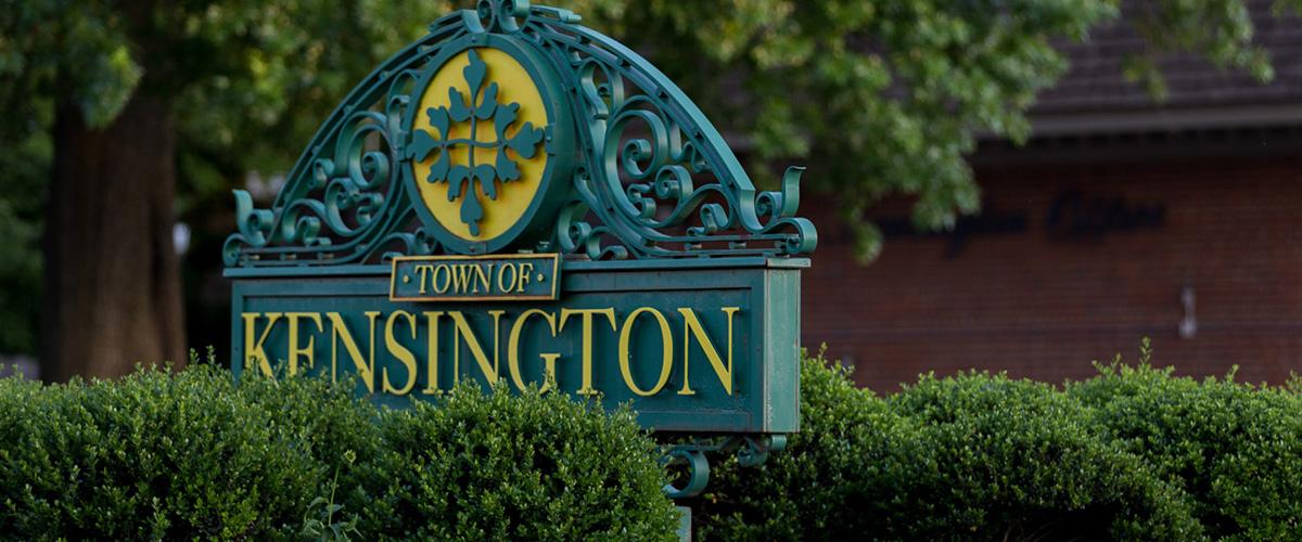 「ケンジントン」とはどういう意味?アルファベットで「Kensington」と記述するとの事。