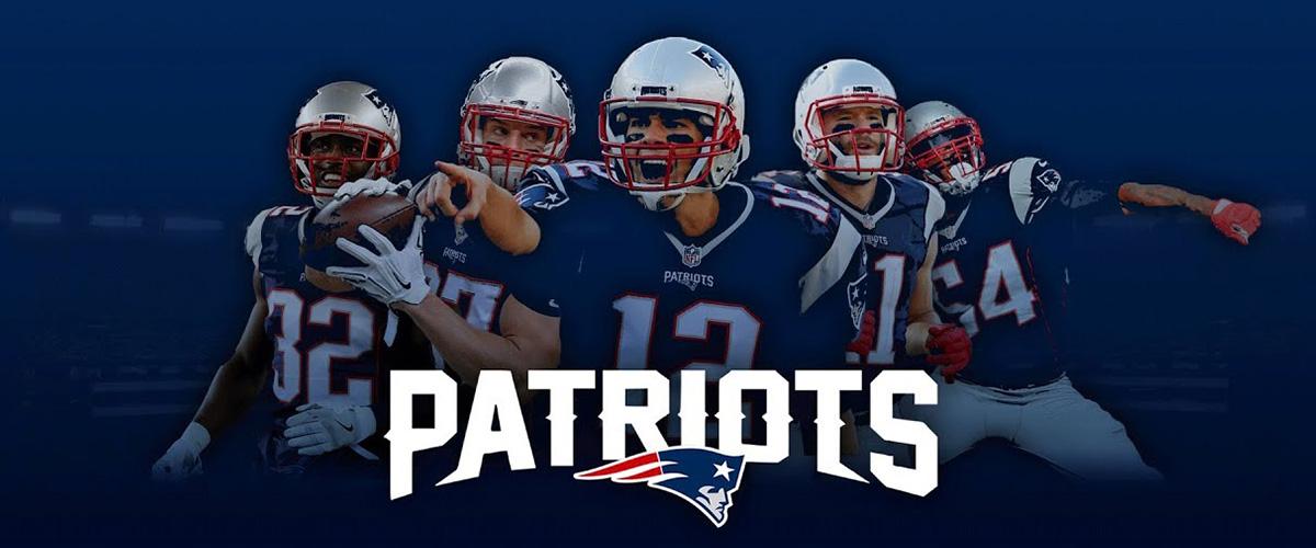 「ニューイングランド・ペイトリオッツ」とはどういう意味?英語で「New England Patriots」と記述するとの事。