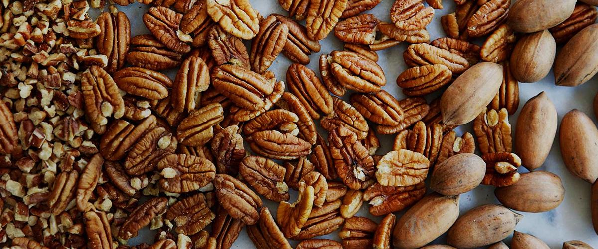 「ぺカンナッツ」とはどういうもの?英語で「Pecan nut」と記述するとの事。