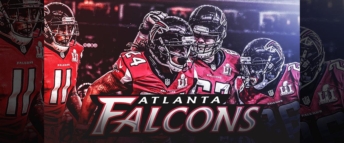 「アトランタ・ファルコンズ」とはどういう意味?英語で「Atlanta Falcons」と記述するとの事。