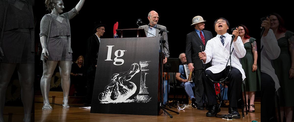 「イグノーベル賞」とはどういう意味?英語で「Ig Nobel Prize」と記述するとの事。