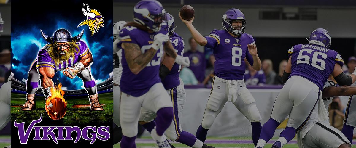 「ミネソタ・バイキングス」とはどういう意味?英語で「Minnesota Vikings」と記述するとの事。
