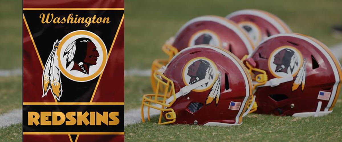「ワシントン・レッドスキンズ」とはどういう意味?英語で「Washington Redskins」と記述するとの事。