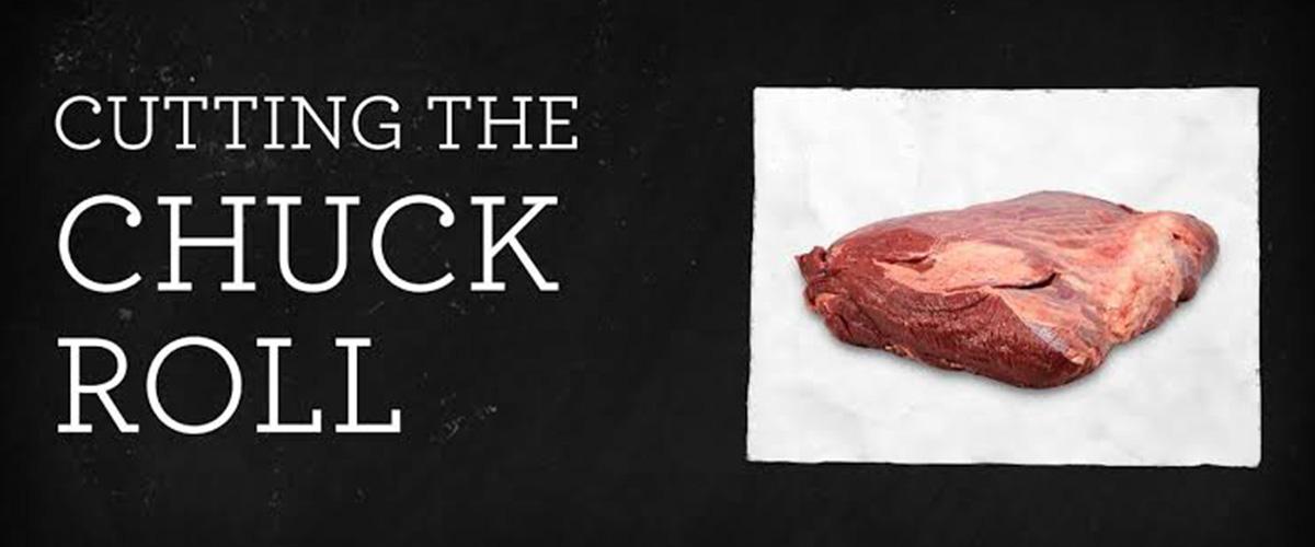 「チャックロール」とはどういう意味?英語で「chuck-roll」と記述するとの事。