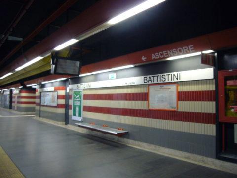 「バティスティーニ」とはどういう意味?イタリア語で「Battistini」と記述するとの事。