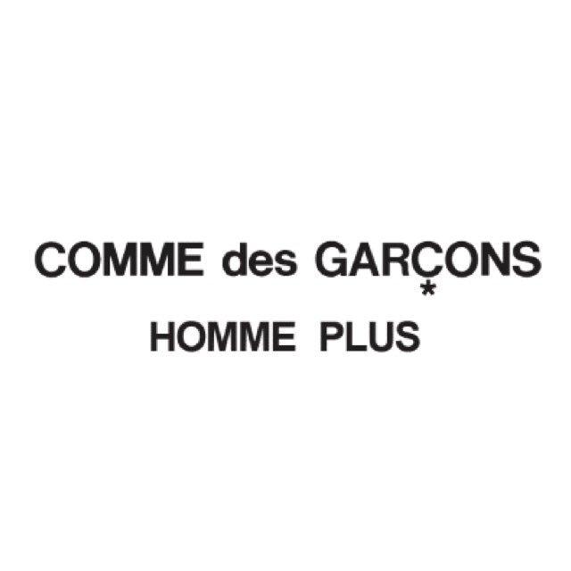 COMME des GARÇONS HOMME PLUS