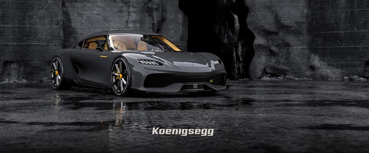 「ケーニグセグ」とはどういう意味?アルファベットで「Koenigsegg」と記述するとの事。