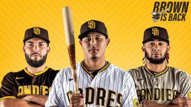 「サンディエゴ・パドレス」とはどういう意味?英語で「San Diego Padres」と記述するとの事。