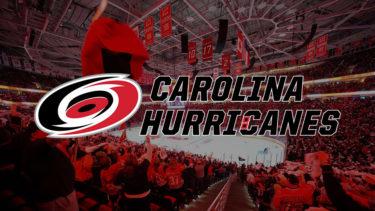 「カロライナ・ハリケーンズ」とはどういう意味?英語で「Carolina Hurricanes」と記述するとの事。