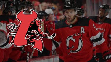 「ニュージャージー・デビルス」とはどういう意味?英語で「New Jersey Devils」と記述するとの事。