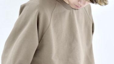「ラグランスリーブ」とはどういう意味?英語で「raglan sleeve」と記述するとの事。