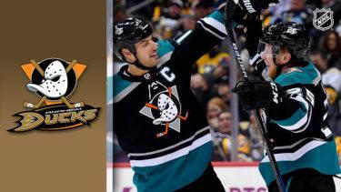 「アナハイム・ダックス」とはどういう意味?英語で「Anaheim Ducks」と記述するとの事。