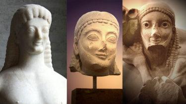 「アルカイクスマイル」とはどういう意味?英語で「Archaic smile」と記述するとの事。