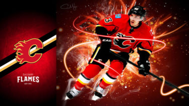 「カルガリー・フレームス」とはどういう意味?英語で「Calgary Flames」と記述するとの事。