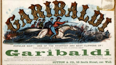 「ガリバルディ」とはどういう意味?アルファベットで「Garibaldi」と記述するとの事。