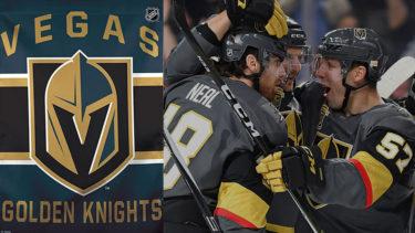 「ベガス・ゴールデンナイツ」とはどういう意味?英語で「Vegas Golden Knights」と記述するとの事。