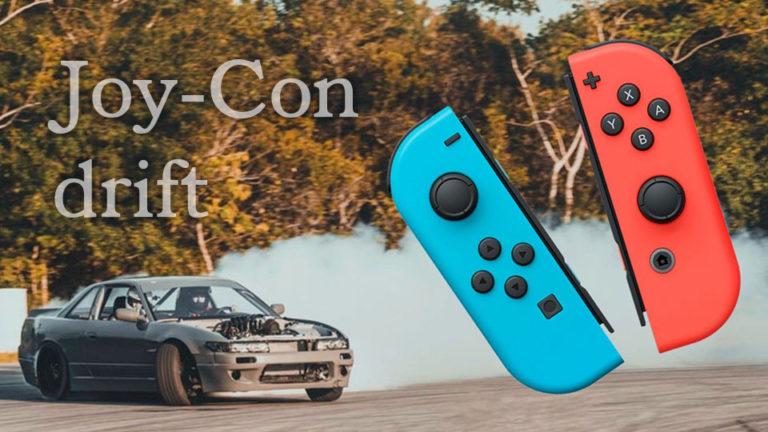 Joy-Con drift