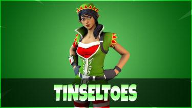 「ティンセルトゥーズ」とはどういう意味?英語で「Tinseltoes」と記述するとの事。