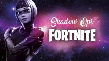 「シャドーオプス」とはどういう意味?アルファベットで「Shadow Ops」と記述するとの事。